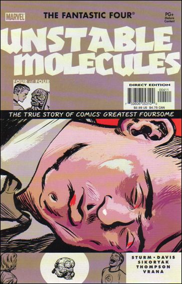 Startling Stories: Fantastic Four - Unstable Molecules 4-A by Marvel