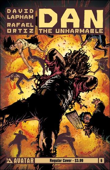 Dan the Unharmable 6-A by Avatar Press
