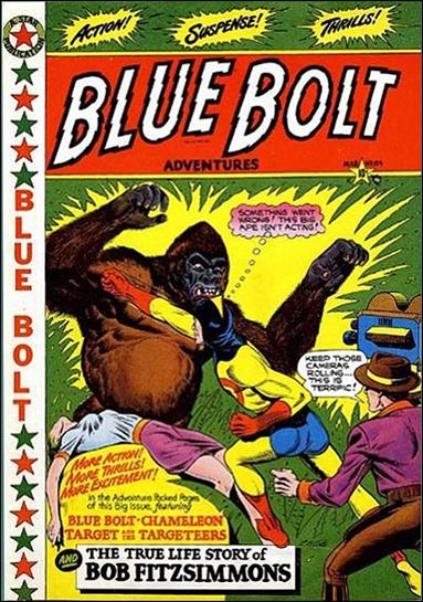 Blue Bolt Comics 104-A by Star Publications