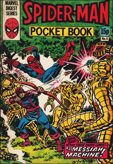 Spider-Man Pocket Book (UK) 5-A by Marvel UK