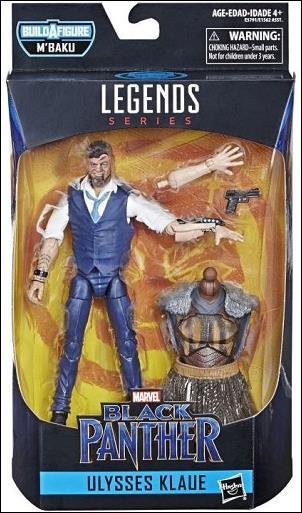 Marvel Legends Infinite: Black Panther (M'Baku Series) Ulysses Klaue by Hasbro