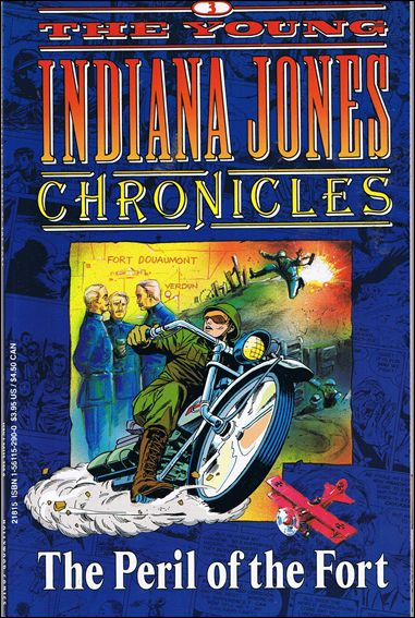 Young Indiana Jones Chronicles 3-A by Disney's Hollywood Comic's