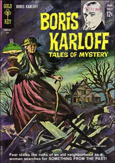 Boris Karloff Tales of Mystery 4-A by Gold Key