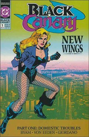 Black Canary (1991) 1-A