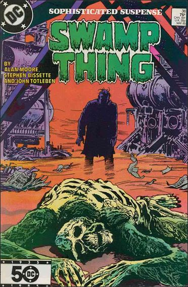 Saga of the Swamp Thing 36-A by DC