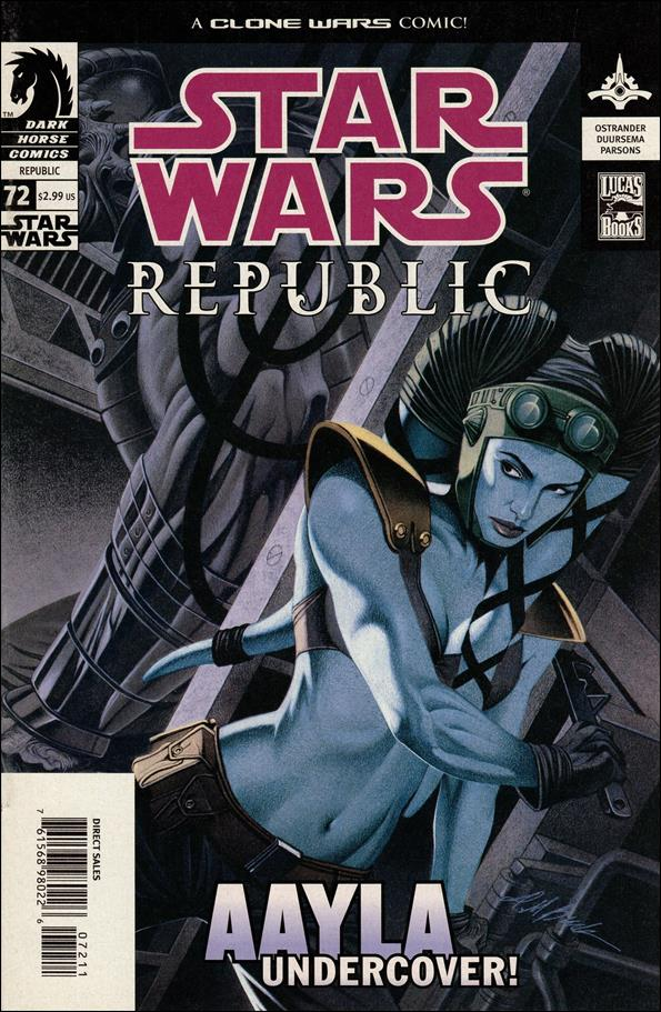 Star Wars/Star Wars Republic 72-A by Dark Horse