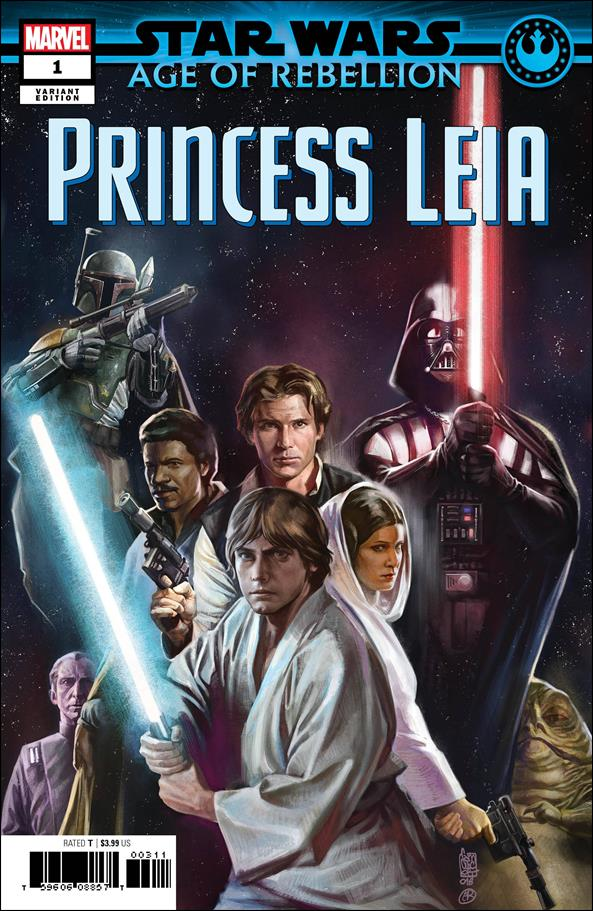 Star Wars: Age of Rebellion - Princess Leia 1-C by Marvel