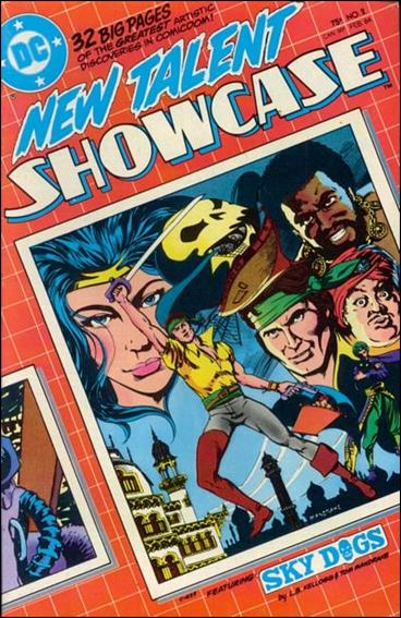 New Talent Showcase (1984) 2-A by DC