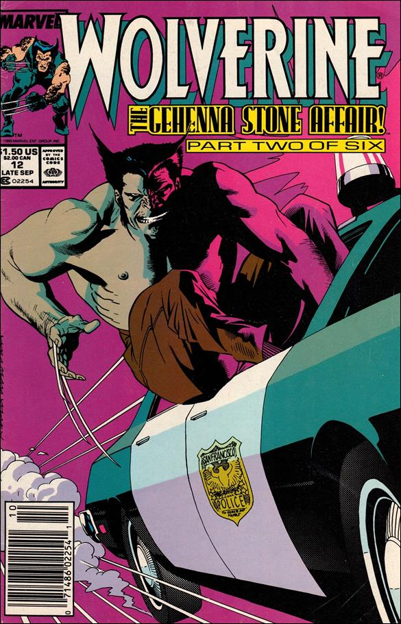 Wolverine (1988)  12-A by Marvel