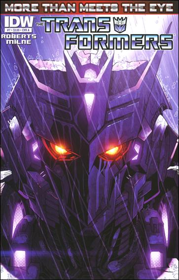Transformers: More Than Meets the Eye (2012) 7-A by IDW