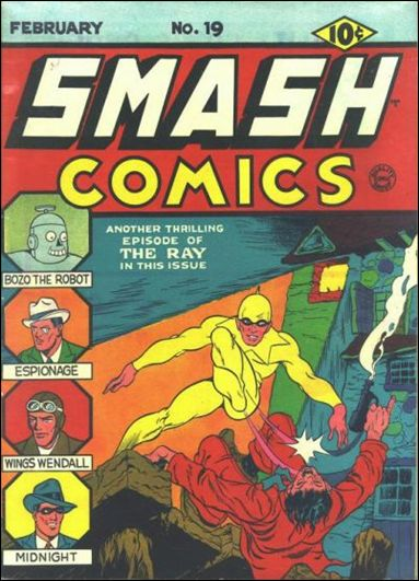 Smash Comics (1939) 19-A by Quality