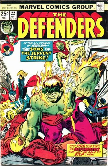 Defenders (1972) 22-A by Marvel