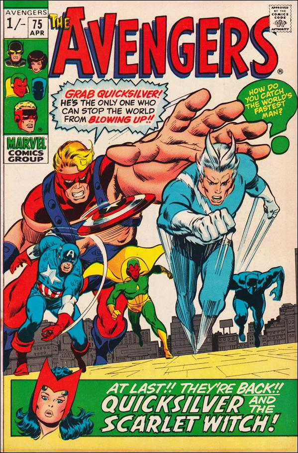 Avengers (1963) 75-B by Marvel