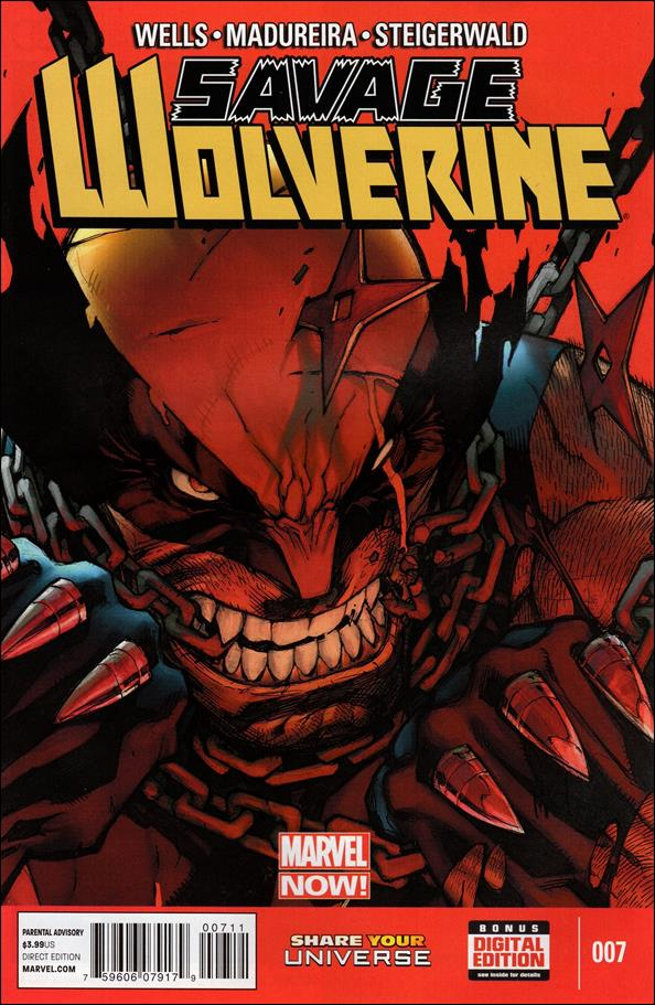 Savage Wolverine 7-A by Marvel