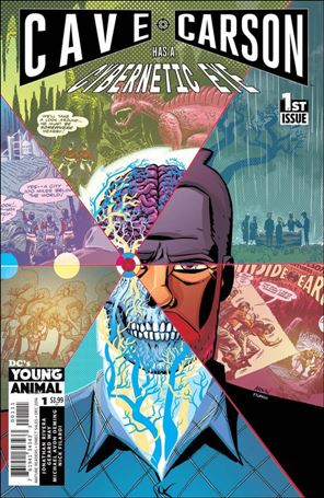 Cave Carson Has a Cybernetic Eye 1-A