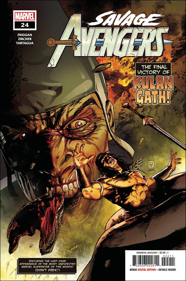 Savage Avengers 24-A by Marvel