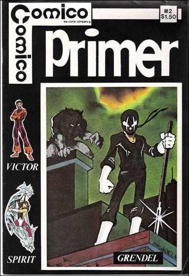 Primer (1982) 2-A by Comico