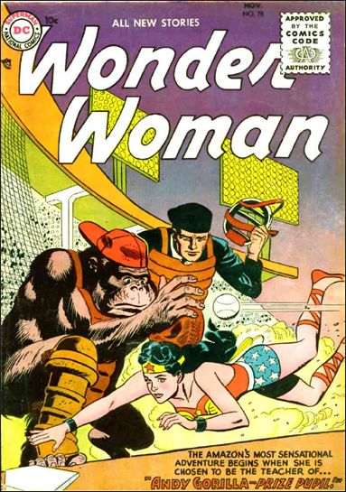 Wonder Woman (1942) 78-A by DC