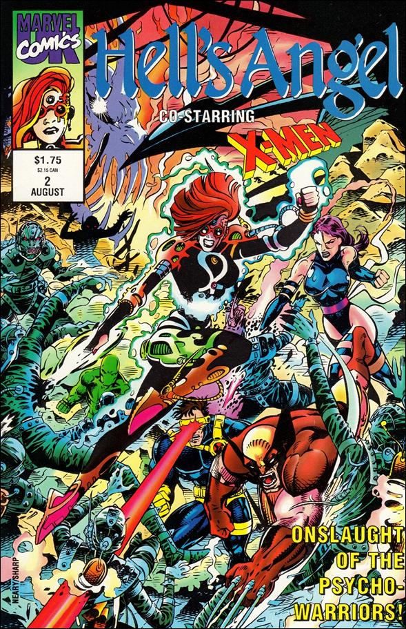 Hell's Angel (UK) 2-A by Marvel UK