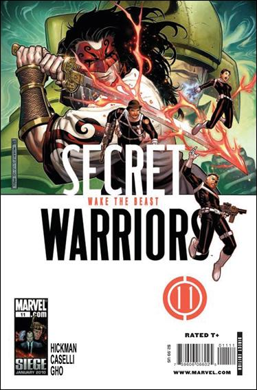 Secret Warriors (2009) 11-A by Marvel
