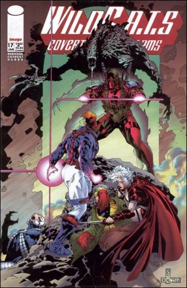 WildC.A.T.s: Covert Action Teams 17-A by Image