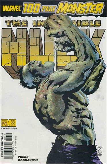 Incredible Hulk (2000)  33-A by Marvel