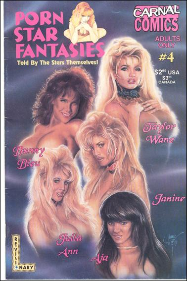 Carnal Comics Presents Porn Star Fantasies 4-A by Re-Visionary