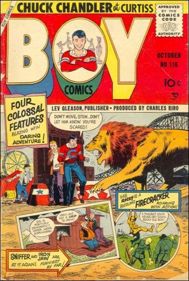 Boy Comics 116-A by Lev Gleason Productions