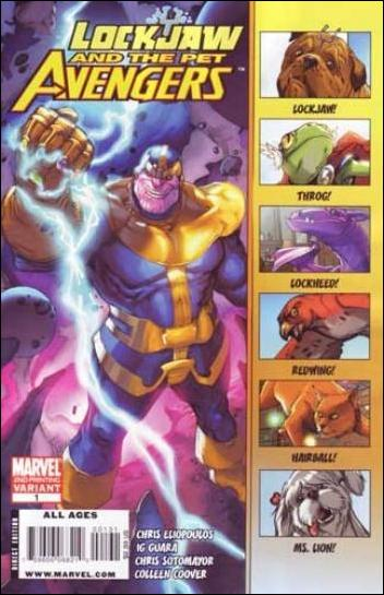Lockjaw and the Pet Avengers 1-C by Marvel