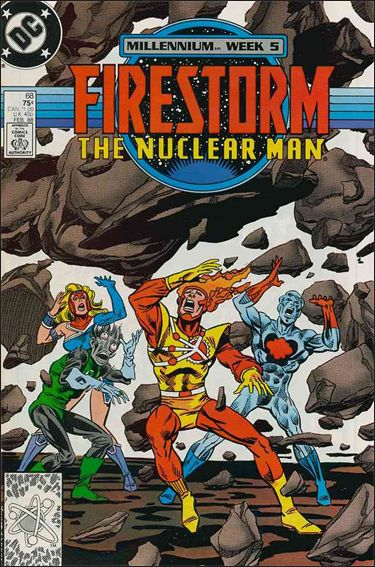 Firestorm The Nuclear Man (1987) 68-A by DC