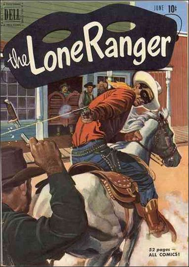 Lone Ranger (1948) 36-A by Dell