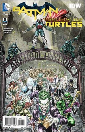 Batman/Teenage Mutant Ninja Turtles 5-A