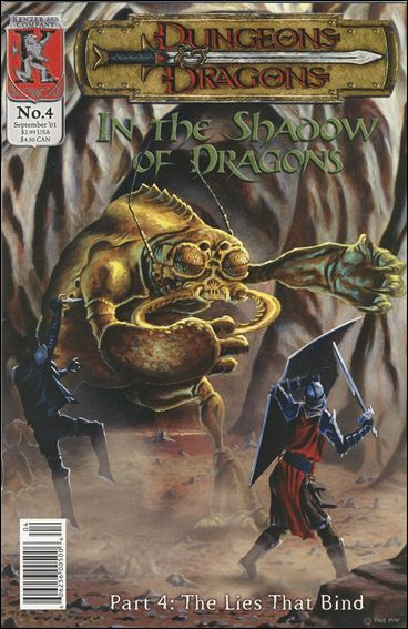 Dungeons and Dragons: In the Shadow of Dragons 4-A by Kenzer and Company