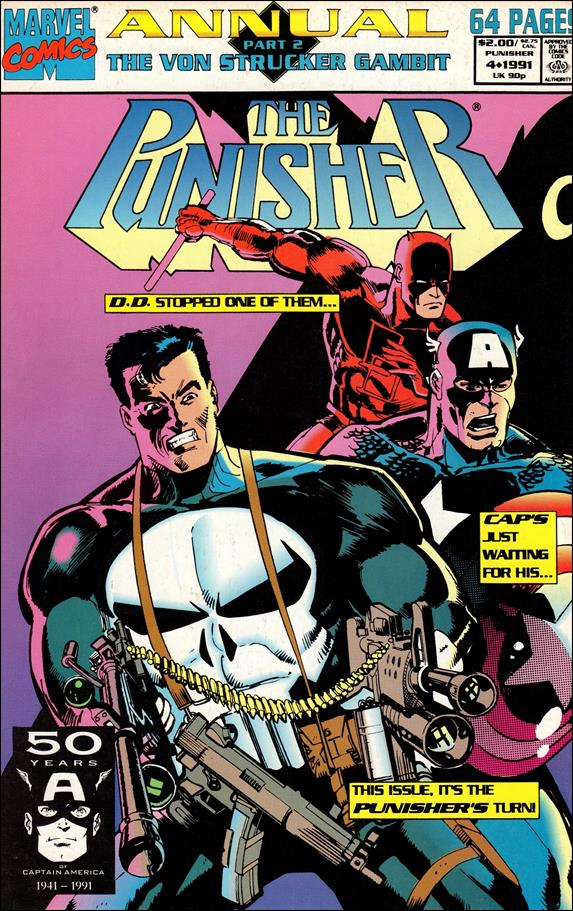 Punisher Annual 4-A by Marvel