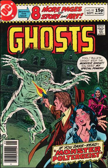 Ghosts (1971) 92-B by DC