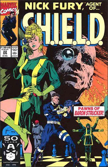 Nick Fury, Agent of S.H.I.E.L.D. (1989) 22-A by Marvel