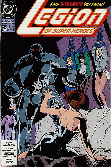 Legion of Super-Heroes (1989) 42-A by DC