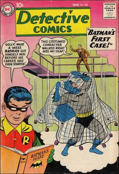 Detective Comics (1937) 265-A by DC