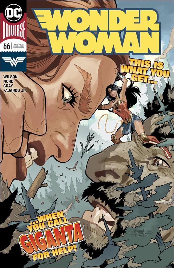 Wonder Woman (2016)  66-A by DC
