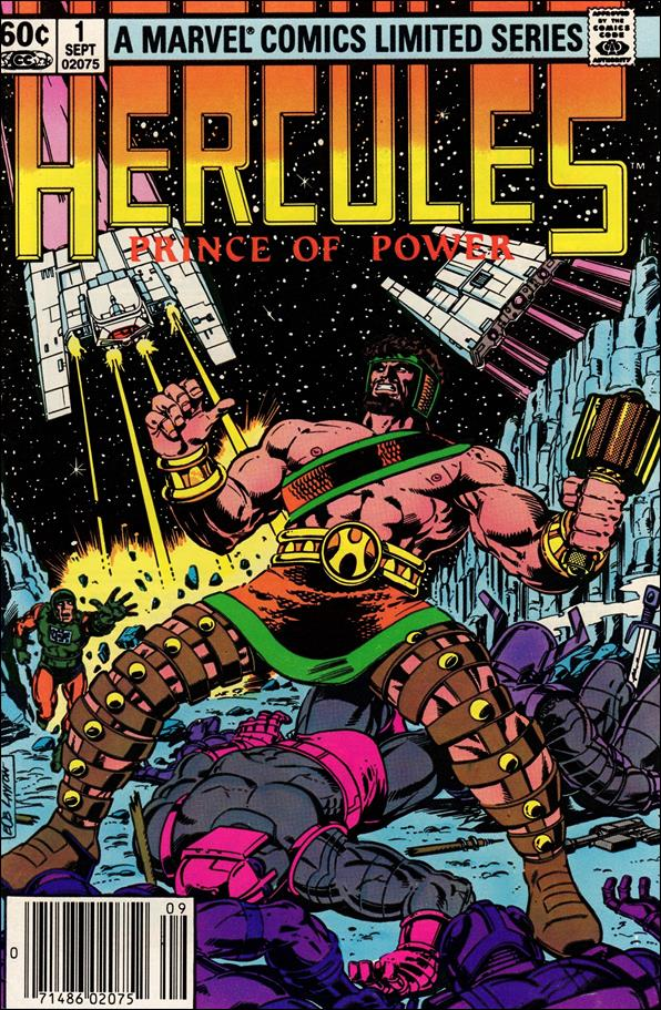 Hercules (1982) 1-A by Marvel