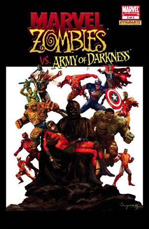 Marvel Zombies/Army of Darkness 3-B by Marvel