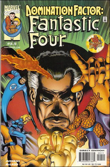 Domination Factor: Fantastic Four 3.5-A by Marvel