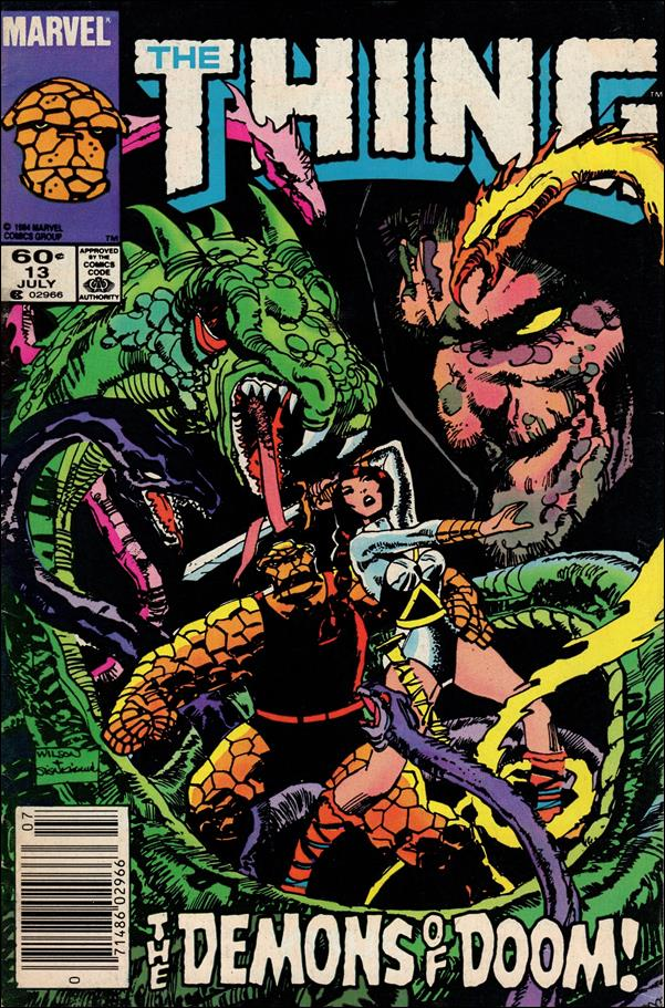 Thing (1983) 13-A by Marvel
