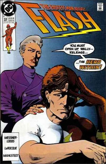Flash (1987) 37-A by DC