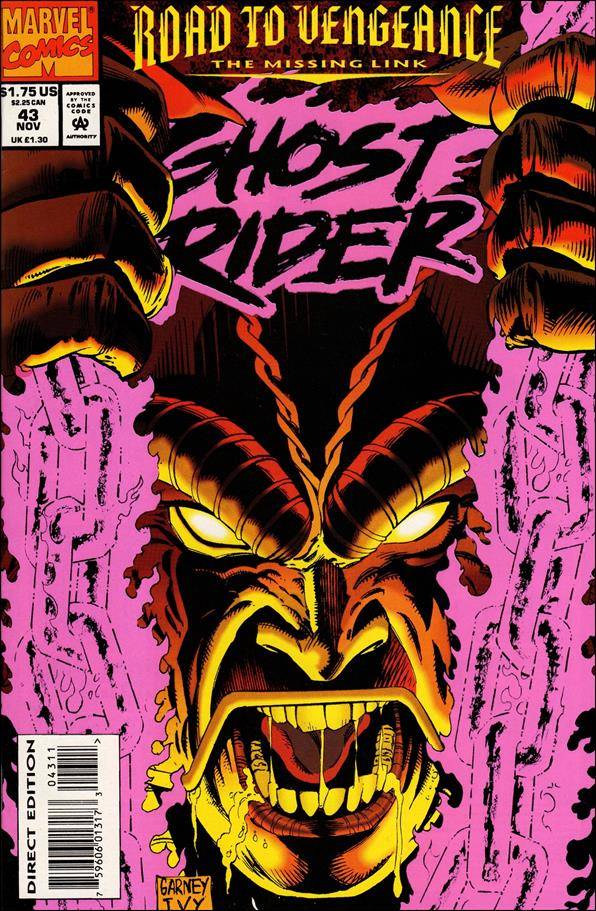 Ghost Rider (1990) 43-A by Marvel
