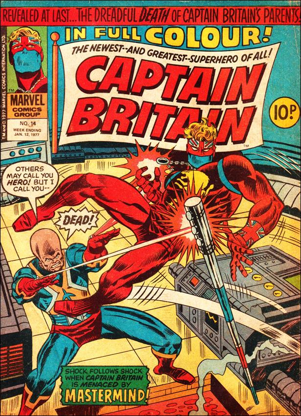 Captain Britain (UK) (1976) 14-A by Marvel UK