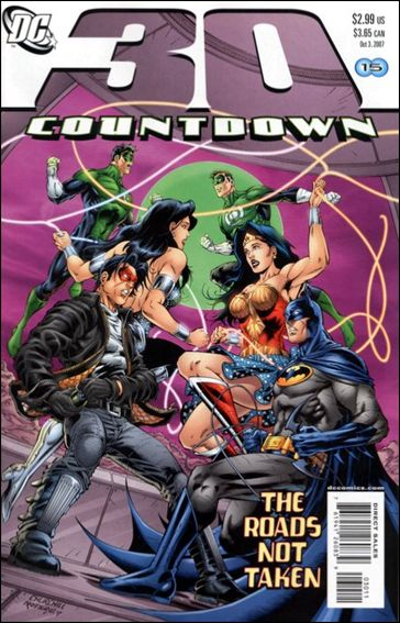 Countdown (2007) 30-A by DC
