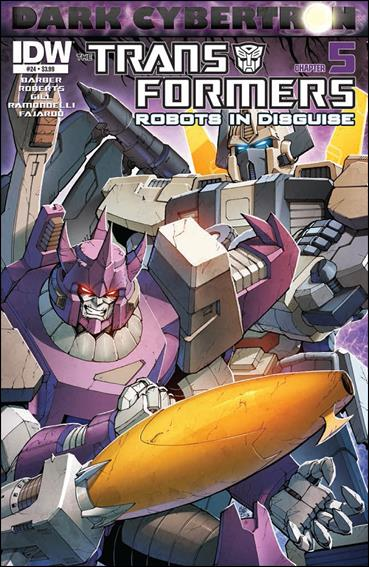 Transformers: Robots in Disguise (2012) 24-A by IDW