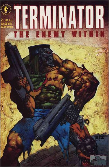 Terminator: The Enemy Within 2-A by Dark Horse
