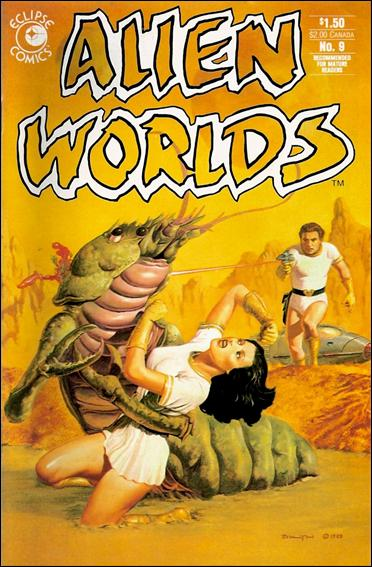 Alien Worlds (1982) 9-A by Pacific Comics